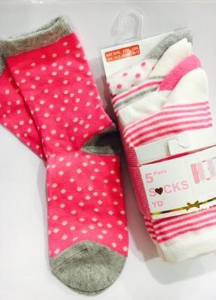 Носки примарк для девочек на 3-6 лет