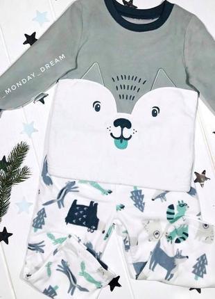 Пижама  для мальчика carter's, комплект картерс на мальчика ca...