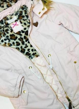Парка куртка для девочки демисезон