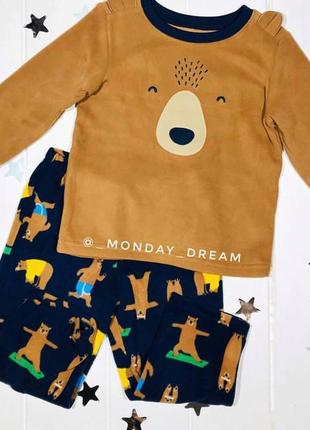 Пижама для мальчика carter's, комплект картерс на мальчика car...