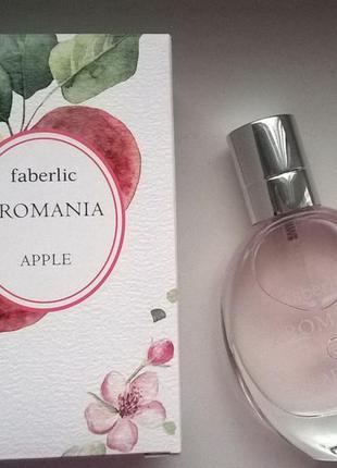 Туалетная вода aromania apple.