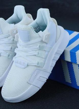 Женские кроссовки adidas eqt adv white