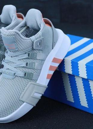 Женские кроссовки adidas eqt adv grey