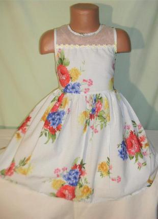Платье, сарафан на 6лет рост 116
