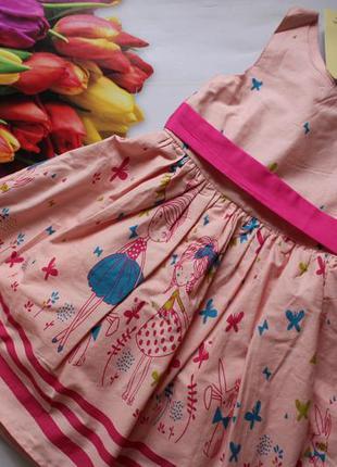Нарядное платье девочка хлопок/ сукня на свято