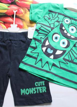 Комплект на мальчика / футболка + шорти