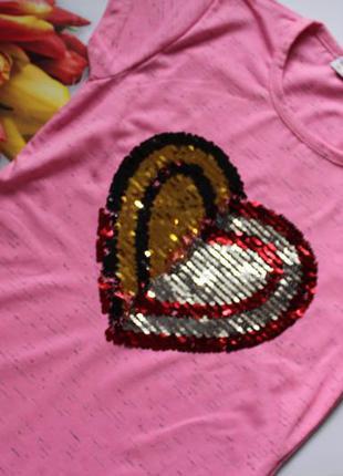 Туника девочка пайетка / туніка дівчинка , футболка