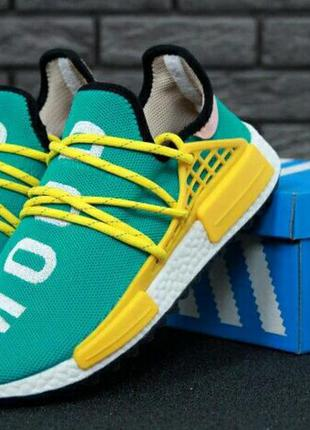 Мужские кроссовки adidas x pharrell williams human race nmd gr...