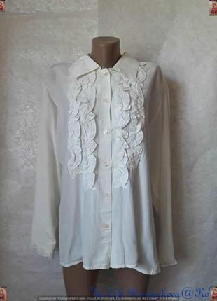 Новая нарядная блуза/рубашка со 100%вискозы цвета шапмань срюш...