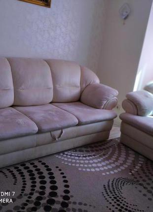 Диван +кресло