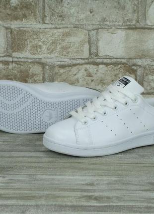 Женские кроссовки adidas stan smith white/black