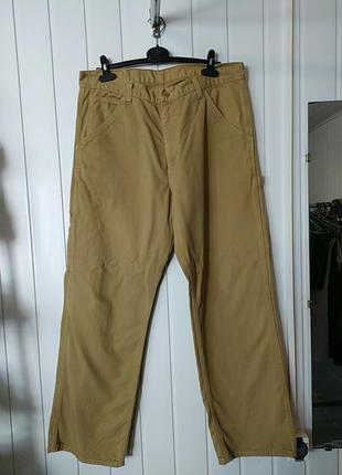 Брендовие широкие мужские джинси  levis 673 оригинал