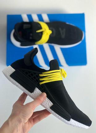"Мужские кроссовки adidas nmd pharrell williams human race ""bla..."