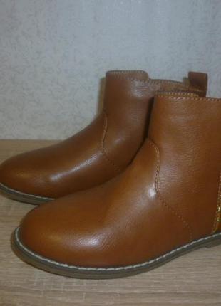 Демисезонные ботинки kiabi (киаби) 33р