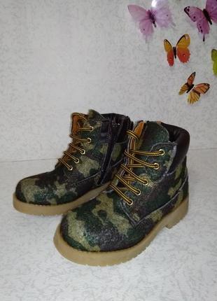 Демисезонные ботинки weinbrenner (веинбреннер)  27р.