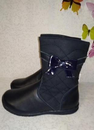 Кожаные ботинки d'bebe 29р стелька 18 см