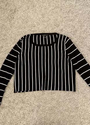 Укорочённый свитер, кроп mango