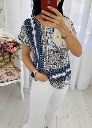 Стильная блузка с принтом f&f