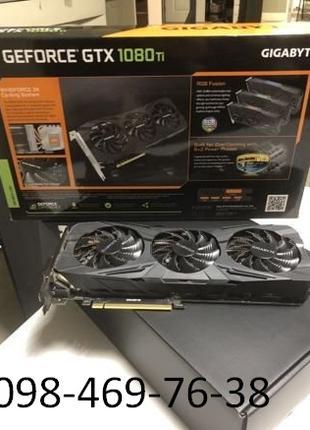 Видеокарта Gigabyte Geforce gtx 1080Ti (Новая)