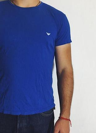 Мужская футболка emporio armani underwear ( армани хлрр )
