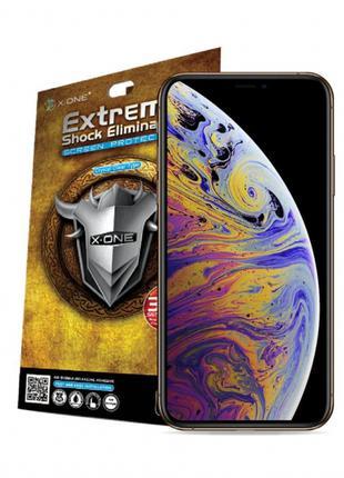 Защитная пленка X-ONE Extreme Shock Eliminator для IPhone XS back