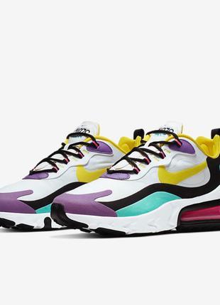 Мужские оригинальные кроссовки Nike Air Max 270 React(AO4971-101)