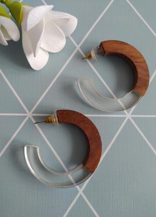 Сережки кільця, півкільця, серьги кольца liars&lovers с сайта ...