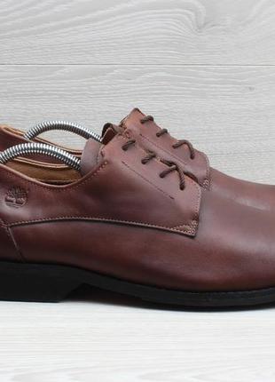 Кожаные мужские туфли timberland оригинал, размер 46