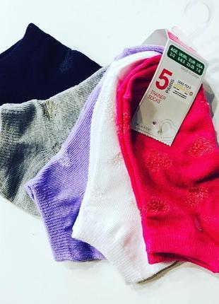 Детские носки  примарк от 2 до 11+ лет primark