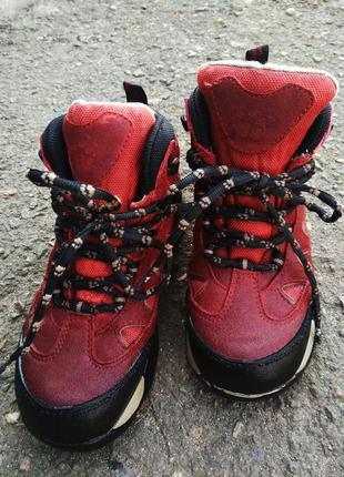 Треккинговые ботинки jack wolfskin