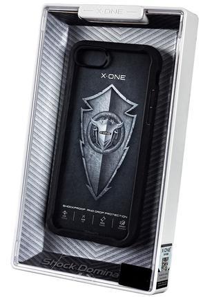 Чехол противоударный X-One Drop Guard 2.0 для IPhone 8