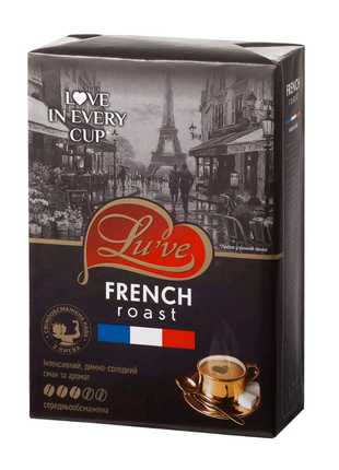"Кофе молотое ""Lu've FRENCH roast ""☕"