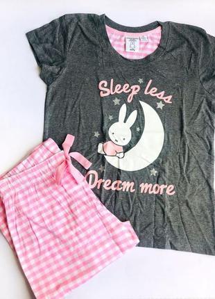 Пижамка женская, домашняя одежда женская, одежда для сна primark