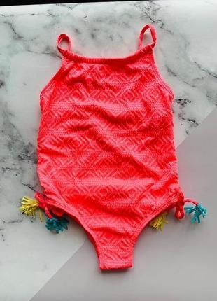 Сдельный купальник примарк для девочек (2-8 лет) primark
