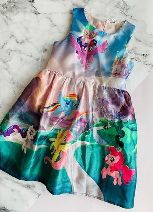 Платье h&m для девочки 122 см