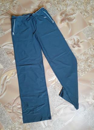 Штаны спортивные ctcl брюки эластиковые широкие серые