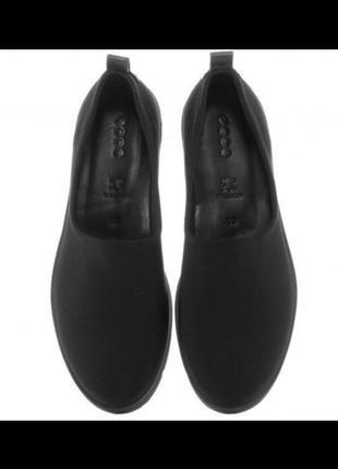 Туфли мокасины слипоны ecco bella