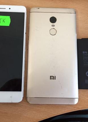 Xiaomi Redmi Note 4 MTK Nikel запчасти с разборки донор