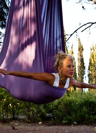 Гамаки для Флай-Йоги (Fly Yoga, Antigravity Yoga), стрейчевые.