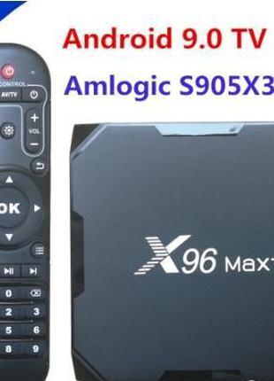 X96 Max plus 2/16Gb S905X3. 4/32 4/64 Смарт ТВ бокс. Оригинал ...
