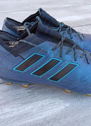 Adidas мужские бутсы с носком оригинал