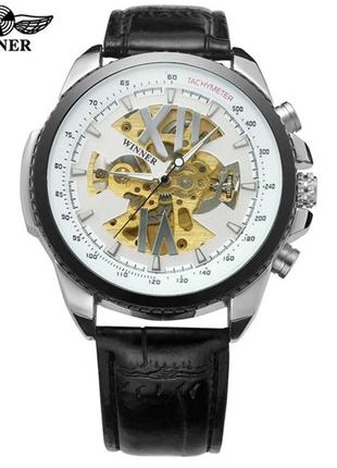 Часы наручные мужские WINNER 0105 BWhite механические M195