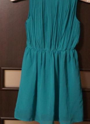 Нарядное шифоновое платье 6-7лет