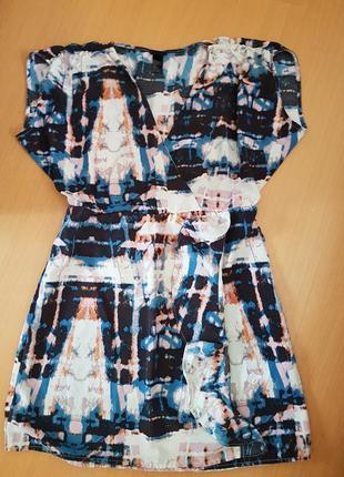Платье на запах от h&m турция