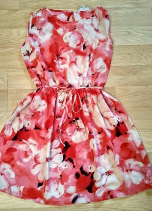Распродажа яркое и лёгкое летнее платье, размер мл