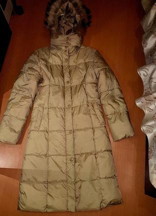 Длинная куртка плащ