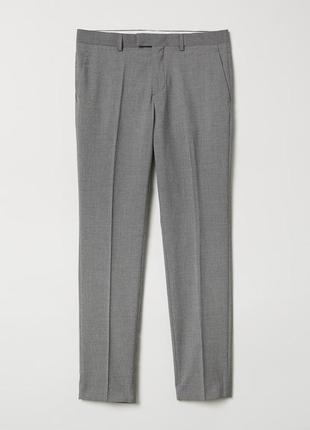 Серые мужские брюки 38-54-xxl