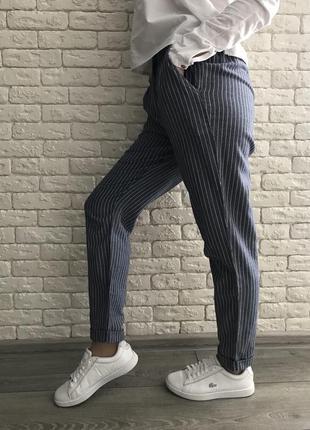 Брюки штаны в полоску