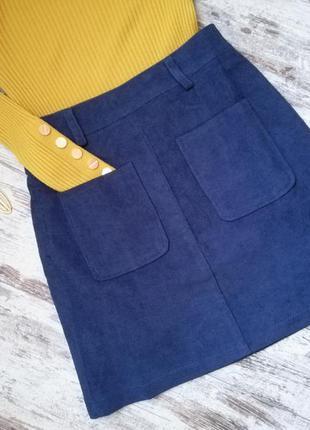 Юбка, юбка мини, юбка вильвет