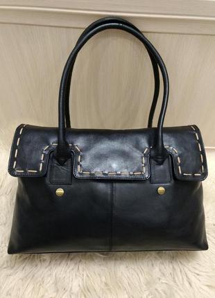 Класическая кожаная сумка jane shilton
